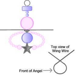 Christmas Angel Tutorial Step 12