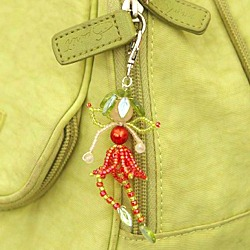 Flower Fairy Bag Charm