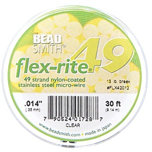 Flexrite - example of bead stringing wire