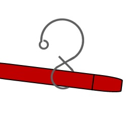 Making a hanging hook - Step3