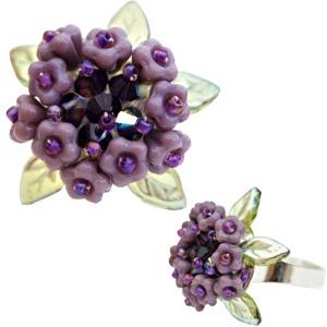 Hydrangea Flower Ring Tutorial