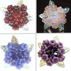 Hydrangea flower ring examples
