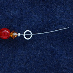 attach your clasp to the beading thread