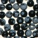 Snowflake Obsidian 3mm Round Beads